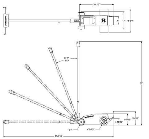 lightweight: 125 lbs a s w  - alumag composite casing